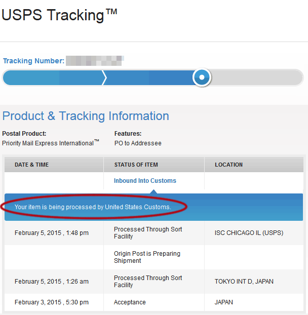Courier Services USPS Tracking - Home